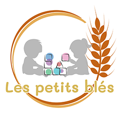 Logo Crèche les petits blés